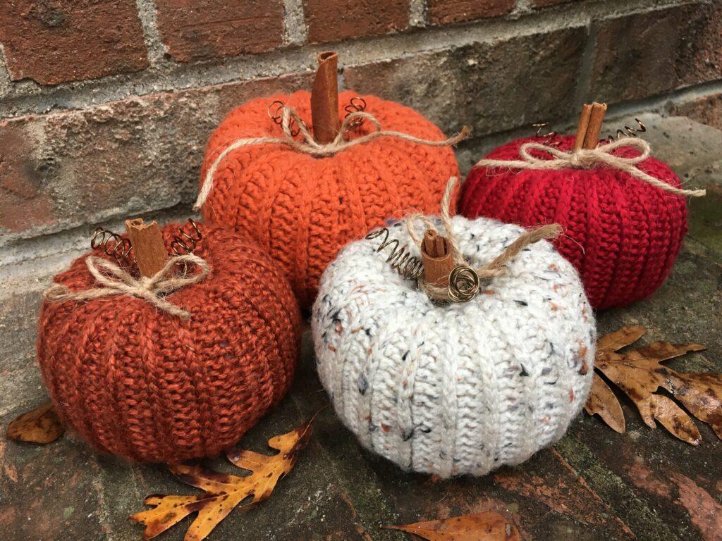Rustic Little Pumpkins